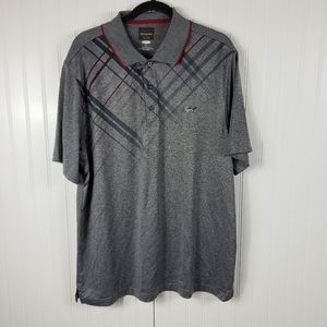 GREG NORMAN active polo size LARGE